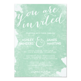 mint green wedding invitations Wedding Decor Ideas