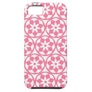CHIC MOD FLOWRES PINK iPhone SE/5/5s CASE