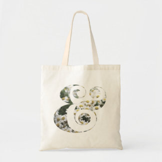 Chic & Modern Daisy Ampersands | Custom | Tote