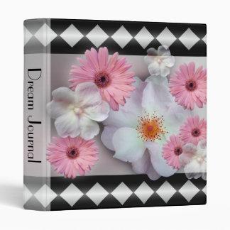 Chic Modern Floral Design Binder