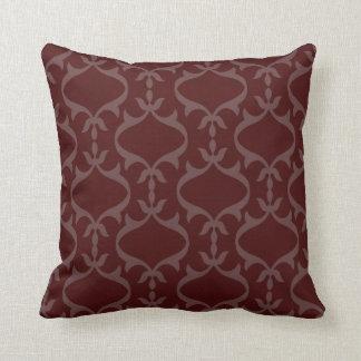 Maroon Gray Pillows - Decorative & Throw Pillows Zazzle