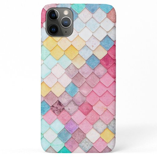 Chic Modern Pastels Design iPhone 11 Pro Max Case