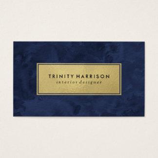 Navy Blue Business Cards & Templates | Zazzle