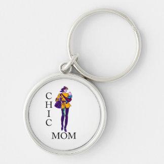 Chic Mom Keychain