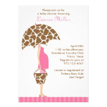 Chic Mom-to-Be Baby Shower Invitations Personalized Invites