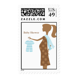 Chic Mom To Be Baby Shower Postage