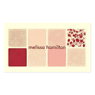 Chic Mommy Calling Card Double-Sided Standard Business Cards (Pack Of 100)