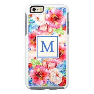 Chic Monogram Floral OtterBox iPhone 6/6s Case