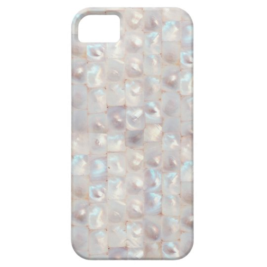 Chic Mother of Pearl Elegant Mosaic Pattern iPhone SE/5/5s Case