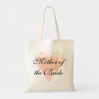 Chic Mother of the Bride wedding tote bag for mom