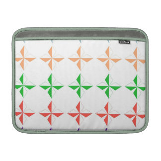Chic multi color diamond star elegant modern girly MacBook sleeves