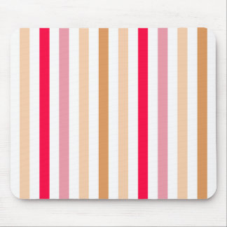 Chic Multicolored Stripes Mouse Pad
