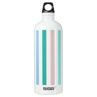 Chic Multicolored Stripes SIGG Traveler 1.0L Water Bottle