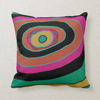 Chic Multicoloured >Patterned Throw Pillow