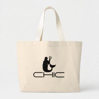 CHIC - Neptune Motif Tote Bags
