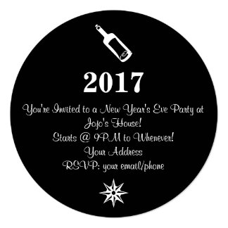 Chic New Year's Eve Party Invite 4Roz