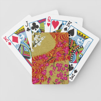 Chic OrientalFloral PatternMulti Products selected Bicycle Playing Cards