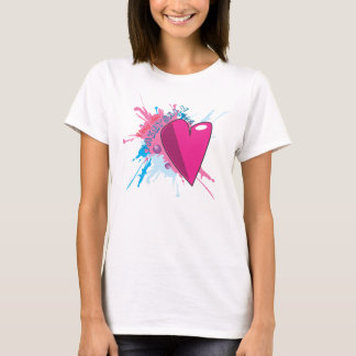 Chic Paintball with Heart Shirt