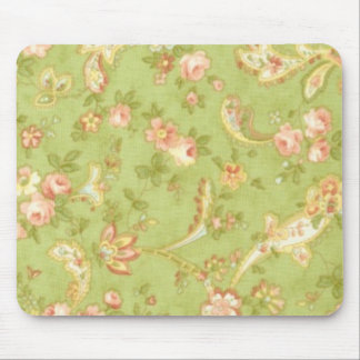 Chic Paisley Fabric Mouse Pad