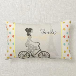 Chic Paris Lumbar Pillow