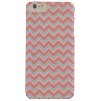Chic Peach and Sand Chevron iPhone 6 PLUS + Case Barely There iPhone 6 Plus Case