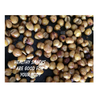 Chic Peas the Healthy Snack Postcard