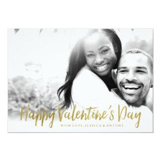 Chic Photo Valentine's Day Card