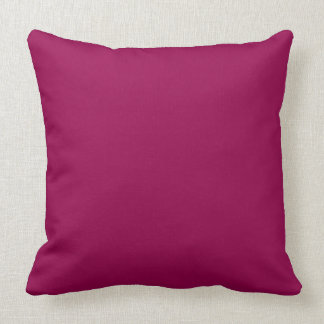 CHIC PILLOW _236 RASBERRY SOLID