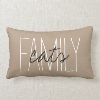 "CHIC PILLOW_""FAMILY...cats"" Lumbar Pillow"