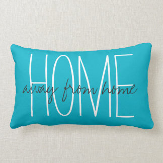 "CHIC PILLOW_HOME...away from home"" Lumbar Pillow"