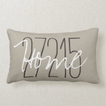 CHIC PILLOW_HOME/ZIPCODE LUMBAR PILLOW