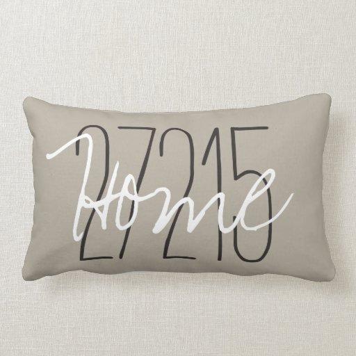 CHIC PILLOW_HOME/ZIPCODE LUMBAR PILLOW