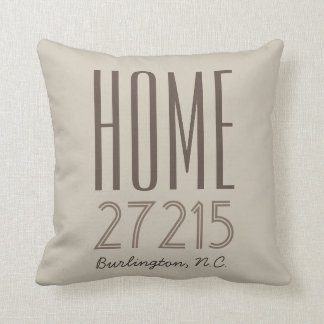CHIC PILLOW_HOME/ZIPCODE/STATE THROW PILLOW