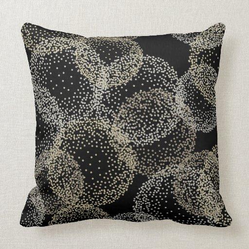 Modern Chic Pillows : CHIC PILLOW_MODERN CONFETTI SPHERES THROW PILLOWS Zazzle