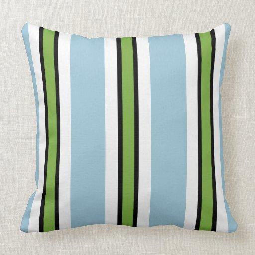 Modern Chic Pillows : CHIC PILLOW_MODERN STRIPES THROW PILLOWS Zazzle