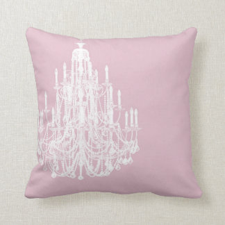 chic pink chandelier throw pillow chic pink chandelier pink