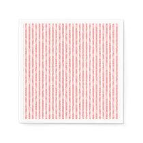 Chic Pink custom paper napkins