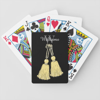 CHIC PLAYING CARDS_09 BUTTER TASSELS. DIY BICYCLE PLAYING CARDS