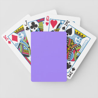 CHIC PLAYING CARDS_ 181 PURPLE SOLID BICYCLE PLAYING CARDS