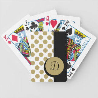CHIC PLAYING CARDS_ 45 CAMEL DOTS/BLACK STRIPE BICYCLE PLAYING CARDS