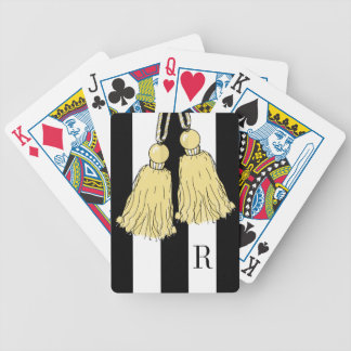 CHIC PLAYING CARDS_BUTTER TASSELS/BLACK/WHITE BICYCLE PLAYING CARDS