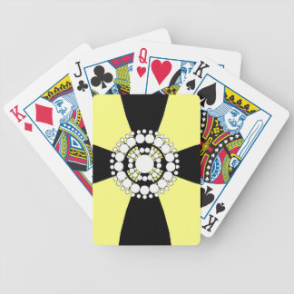 CHIC PLAYING CARDS_PEARL BROACH ON RIBBON 07/51 BICYCLE PLAYING CARDS