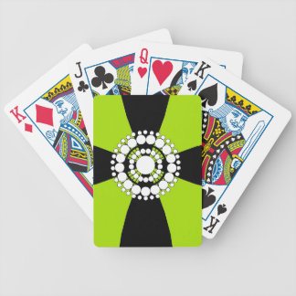 CHIC PLAYING CARDS_PEARL BROACH ON RIBBON 07/62 BICYCLE PLAYING CARDS