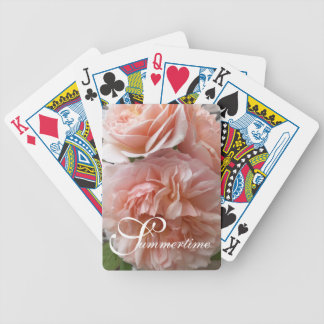 "CHIC PLAYING CARDS_""Summertime"" THE EVELYN ROSES Bicycle Playing Cards"