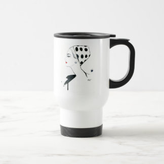 Chic Polka Dotty Travel Mug