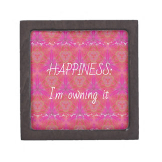 "Chic Pop Culture  Colors ""Happiness: Owning it"" Gift Box"