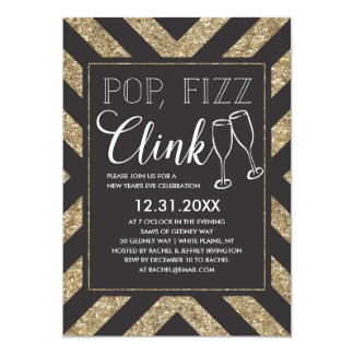 Chic Pop Fizz Clink Card