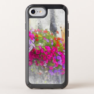 Chic Pretty Floral Watercolor Modern Speck iPhone Case