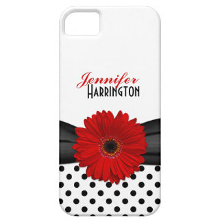Chic Re Gerbera Daisy Polka Dot iPhone 5 Case