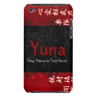 Chic Red Japanese Art iPod Touch Covers